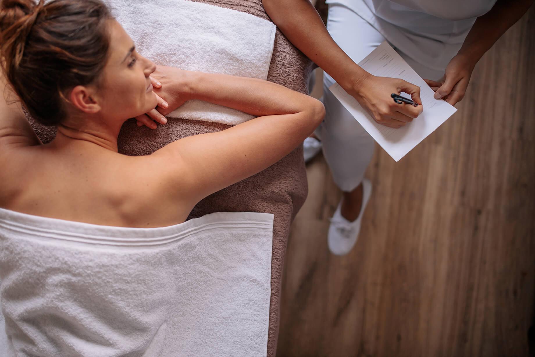 komunikace pri masazi obrazok