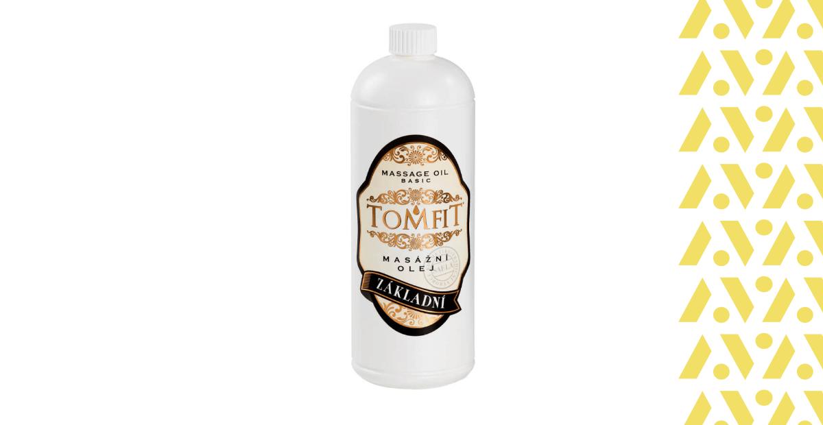 Tomfit masážní olej základní